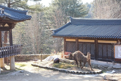 伝統文化体験ができる炊翁芸術館=(聯合ニュース)