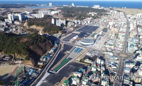 京江線終点の江陵駅=(聯合ニュース)