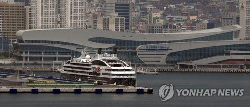釜山港国際旅客ターミナル(資料写真)=(聯合ニュース)
