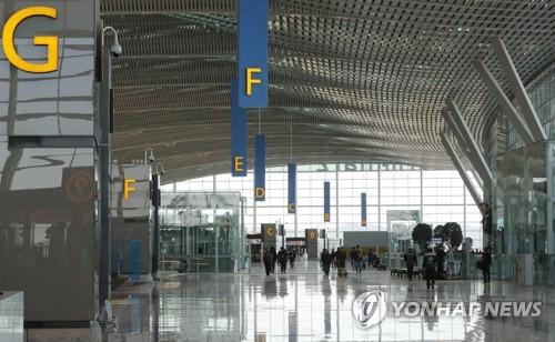 ターミナル内は広く開放感にあふれている=(聯合ニュース)