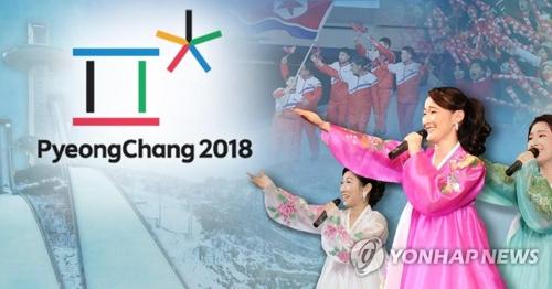 北朝鮮は平昌五輪に選手団や応援団、芸術団などを派遣すると表明した=(聯合ニュース)