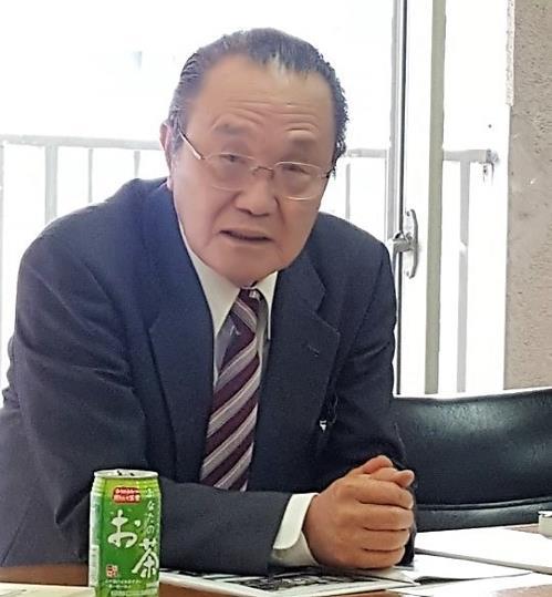 民団の林三鎬副団長=(外交部共同取材団=聯合ニュース)