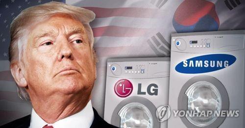 トランプ大統領が洗濯機などへのセーフガード発動を承認した(イメージ)=(聯合ニュース)