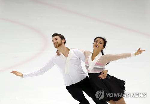 アイスダンスのミン・ユラ、アレクサンダー・ガメリン組(資料写真)=(聯合ニュース)