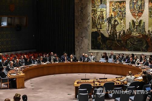 北朝鮮制裁問題を話し合う安保理(資料写真)=(聯合ニュース)