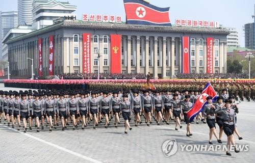 軍事パレードの模様(資料写真)=(聯合ニュース)