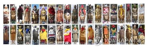 全国に建てられた慰安婦被害者を象徴する少女像(資料写真)=(聯合ニュース)