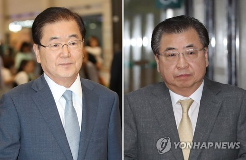 鄭氏(左)と徐氏(資料写真)=(聯合ニュース)