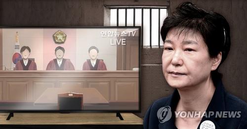 被告不在のまま、判決公判が行われた(コラージュ)=(聯合ニュース)