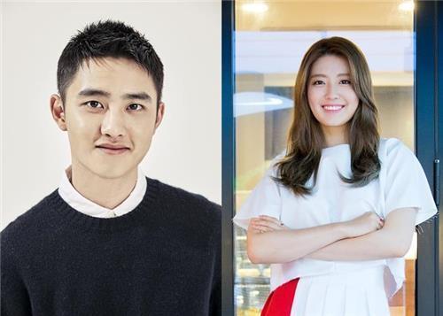 ディオ(左)とナム・ジヒョン(tvN提供)=(聯合ニュース)