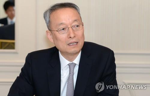 韓国産業通商震源部の白雲揆(ペク・ウンギュ)長官=(聯合ニュース)