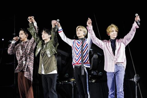 4人体制になったSHINee(事務所提供)=(聯合ニュース)