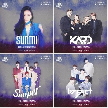 「2018FEEL KOREA」の出演者(韓国国際文化交流振興院提供)=(聯合ニュース)