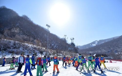 北朝鮮の馬息嶺スキー場(資料写真)=(聯合ニュース)