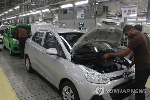 南部チェンナイにある現代自動車の工場(資料写真)=(聯合ニュース)