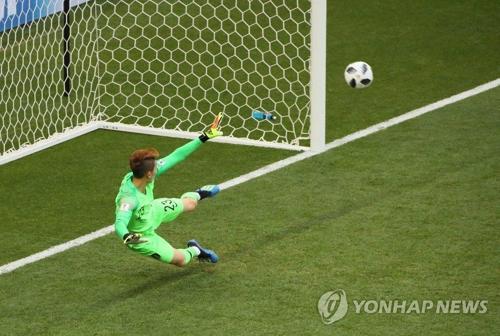 [速報]韓国2連敗 メキシコに1ー2=W杯ロシア大会