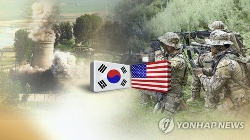 韓米両軍は8月に予定されていたUFGの中止を発表した(コラージュ)=(聯合ニュースTV)