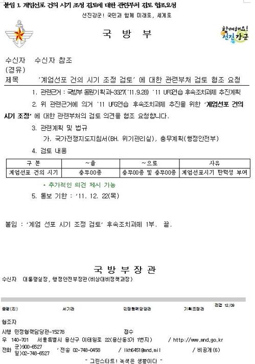 金炳基議員が公開した資料(金炳基議員室提供)=(聯合ニュース)