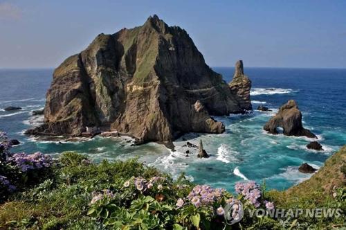 独島(資料写真、文化財庁提供)=(聯合ニュース)