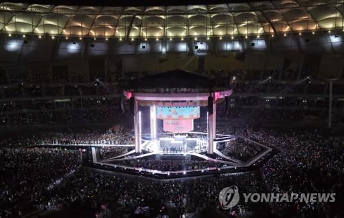 昨年の開幕公演の様子(資料写真)=(聯合ニュース)