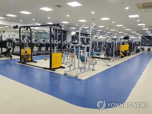 ソウル市内のフィットネスジム(資料写真)=(聯合ニュース)