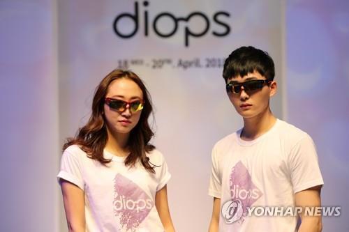 韓国製眼鏡フレームの輸出市場が変化に直面している(資料写真)=(聯合ニュース)
