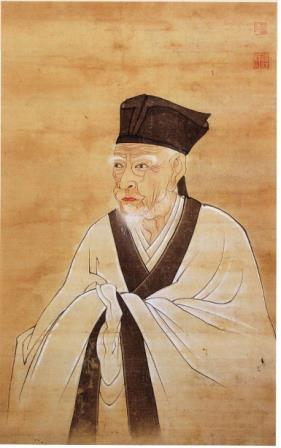 雨森芳洲肖像(釜山市提供)=(聯合ニュース)