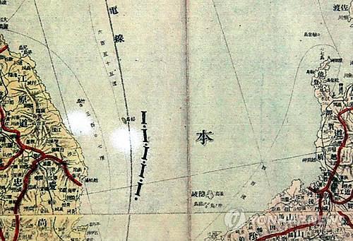 日清韓軍用精図(資料写真)=(聯合ニュース)