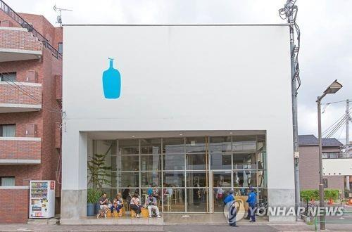 ブルーボトルコーヒーの東京の店舗(ブログより)=(聯合ニュース)