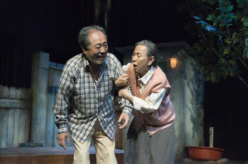 연극 '아버지와 나와 홍매와' (사진제공=신시컴퍼니)
