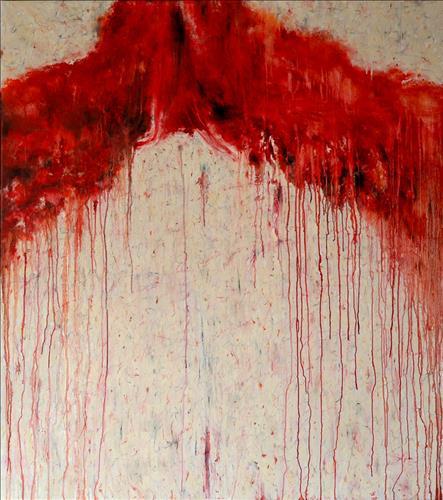 Diaphanous Badinage Part VII 121.9x137.2(cm) Oil on Canvas 2007.