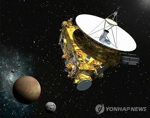 명왕성 탐사선 첫 컬러사진 송신