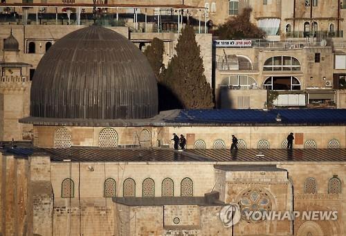 알아크사 사원 전경(AFP=연합뉴스자료사진)