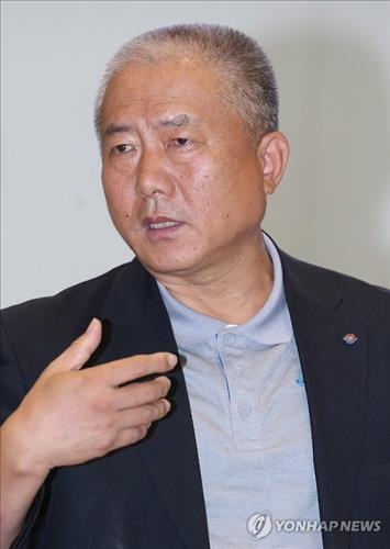 김동만 한국노총 위원장