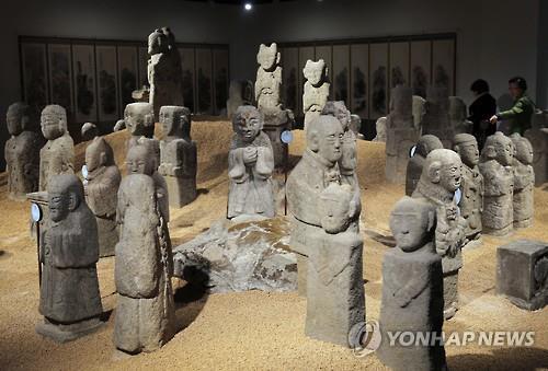 우리옛돌박물관 동자관