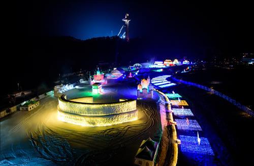 평창 알펜시아, 하얼빈 빙설대세계 개막_1