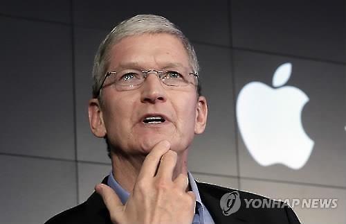 """애플 CEO """"아이폰 잠금해제 프로그램은 암과 같다""""(종합)"""