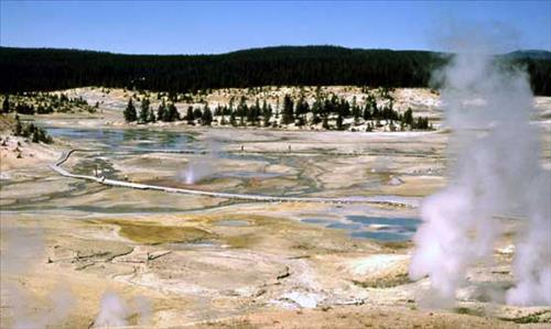 Mammoth Hot Springs Winter Tours