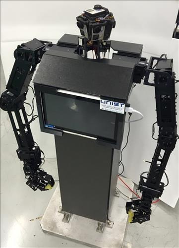 울산과기원의 재난 구조 로봇