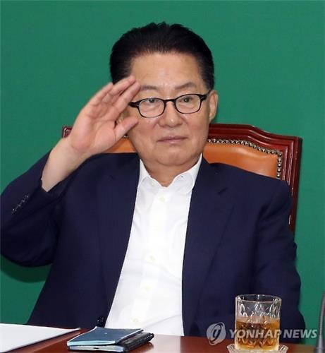 """박지원 """"中 사드보복이 국익 아냐…小利 택하지 말라""""(종합)"""