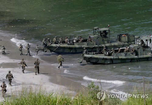 2015년 10월 미국과 필리핀의 합동군사훈련[AP=연합뉴스]