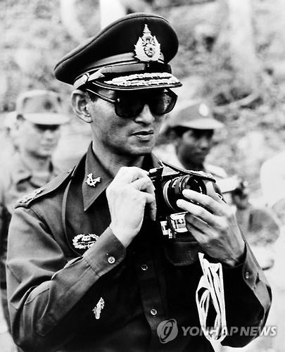 1980년 캄보디아 방문 당시 푸미폰 국왕[AFP=연합뉴스 자료사진]