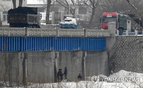 북한으로 향하는 석탄