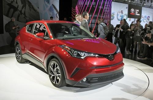 미국시장에 출시된 도요타자동차 신형 스포츠유틸리티차량(SUV)