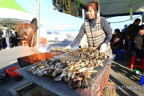 2016 속초 도루묵 축제 [연합뉴스 자료사진]
