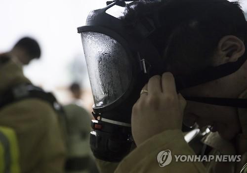 소방관[연합뉴스 자료사진]