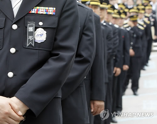 순직 소방관 영결식[연합뉴스 자료사진]