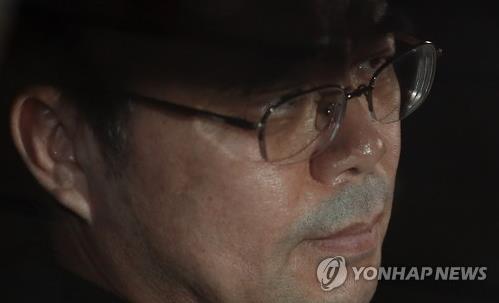 김종 전 문화체육관광부 2차관 [연합뉴스 자료사진]