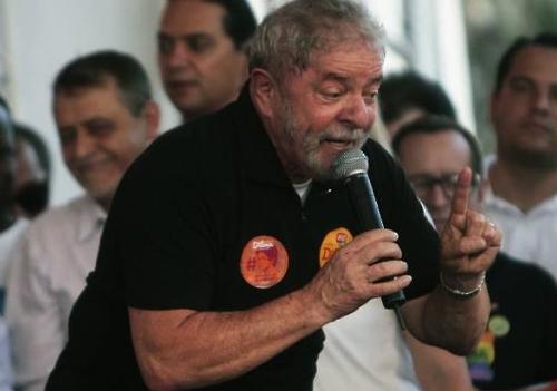 브라질 룰라 전 대통령[출처:브라질 시사주간지 베자]