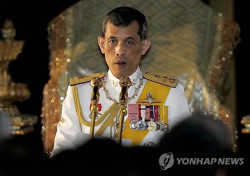 태국의 새 국왕으로 즉위한 마하 와치랄롱꼰[AFP=연합뉴스 자료사진]